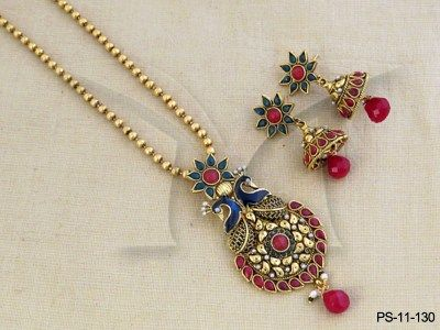 PS-11-130 || Loving Peacock Pendant Sets