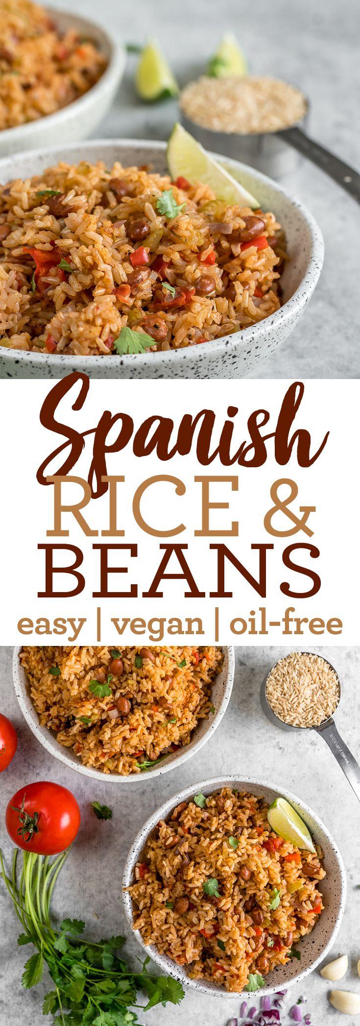 Vegan Spanish Rice & Beans