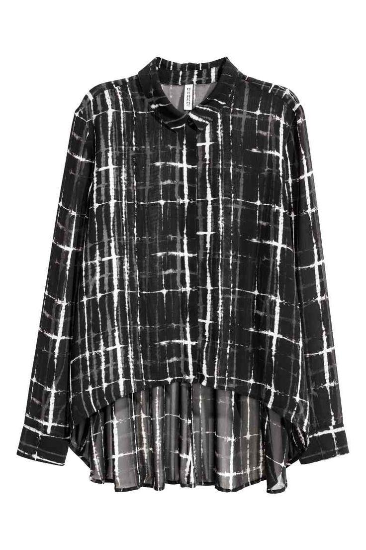 Шифоновая рубашка | H&M