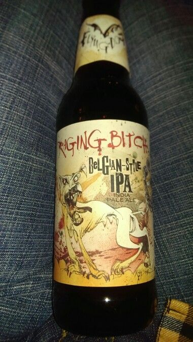 Flying Fish Brewery Raging Bitch Belgian-Style IPA
