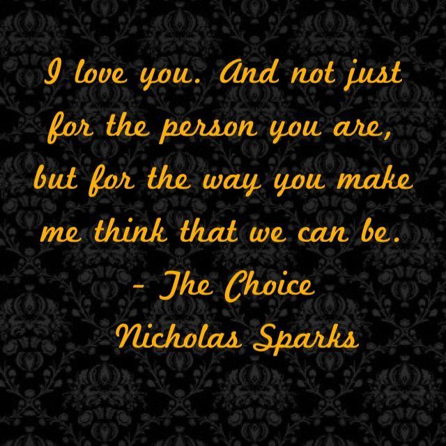 Nicholas Sparks Quotes: 25+ Best Nicholas Sparks Quotes On Pinterest