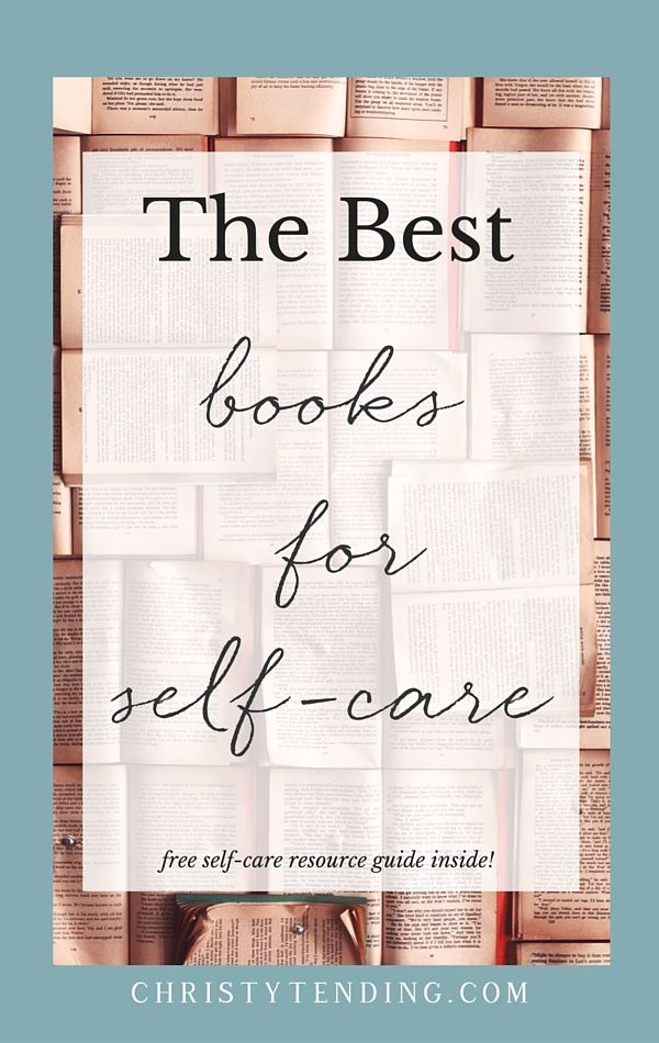 Books are a core part of my self-care practice. Here are some of the best books for a self-care and healing practice. Get the list, plus a free resource guide inside! >> www.christytending.com