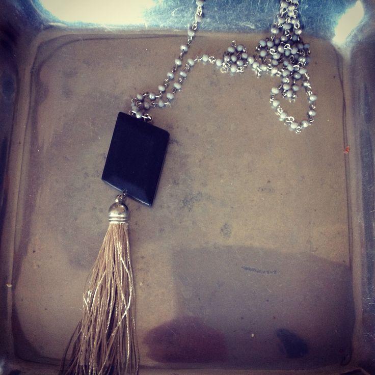 long necklace boho style!