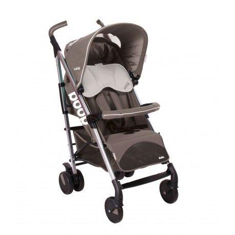 SILLA DE PASEO ASALVO MOMA: textil totalmente desenfundable, chasis de aluminio y suspensión en las cuatro ruedas. ¡Versátil y muy completa!