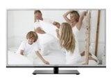 Toshiba 46TL963G 116,8 cm (46 Zoll) 3D LED Backlight Fernseher, Energieeffizienzklasse A+ (Full HD, 200Hz AMR, DVB T/C/S2, CI+, DLNA, Web TV) silber