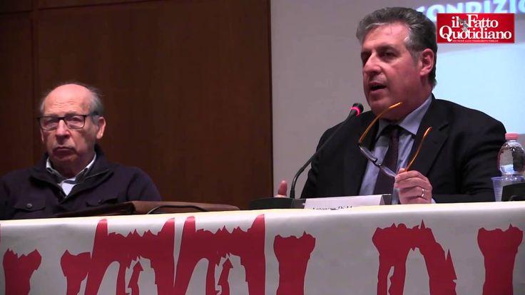 """Mafia, Di Matteo: """"Ci stiamo rassegnando, legislazione garantisce impuni..."""