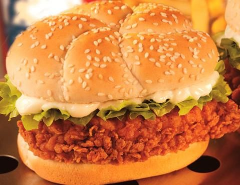 KFC Zinger Burger      Here I will tell you the recipe of famous kfc zinger burger.Try out this...