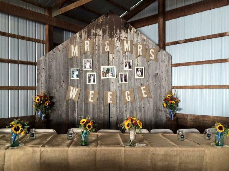 17 Best Ideas About Head Table Backdrop On Pinterest