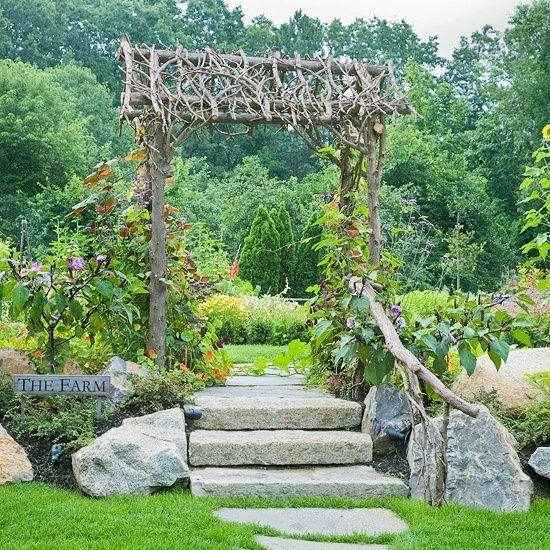 stilvolle Ideen für Gartengestaltung