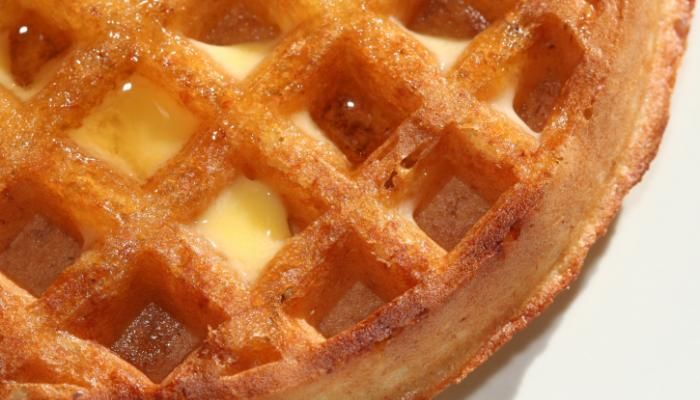Hands down the **BEST** gluten free waffle recipe I've made so far! I used 1 1/4 KA gluten free flour mix and added 1/2 cup coconut flour for a kick of protein and fiber. With the addition of the coconut flour, I added 2 more eggs (1 egg per 1/4 cup of flour). I also decreased the amount of oil (butter) to 1/4 cup and used coconut oil instead of butter. The butter would be yummy but we're cutting out dairy (feel free to sub almond milk for regular milk too). Moist and fluffy waffles! **EDIT…
