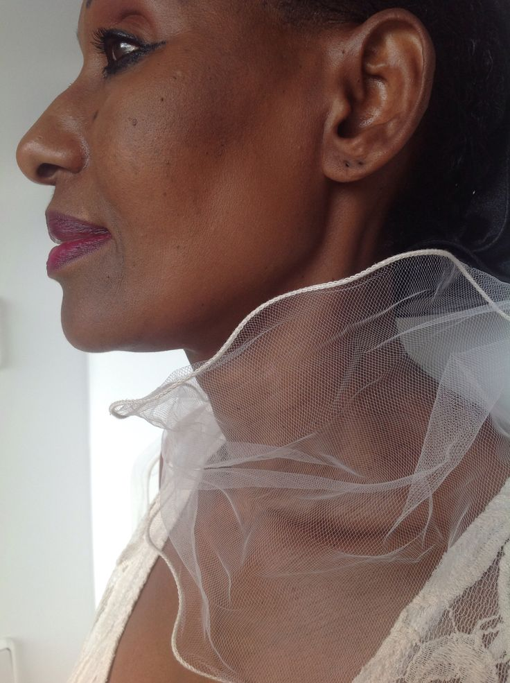 - Chiffon  scarf - Atelier Birlo Berlin - perfect for an elegant dress - Accessoires - Berlinfashion -