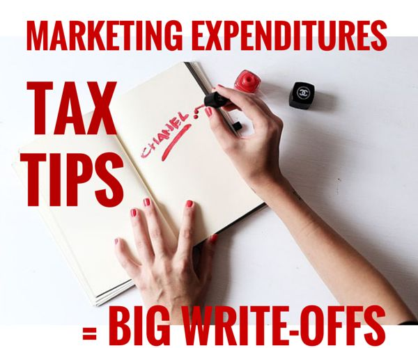 Our latest blog article Marketing Expenditures = Big Deductions #salontaxtips