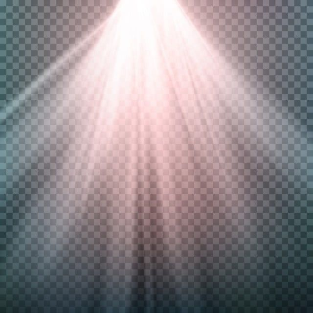 Glow Light Effect Beam Rays Vector Sunlight Special Lens Flare Light Effect Isolated On Trat Background Vector Illustration Spotlight Clipart Art Background Lens Flare Light Flare Light Background Images