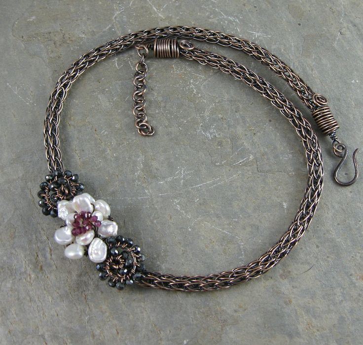 images of viking knit jewelry | Wickwire Jewelry: Week 21-Bronze Viking Knit Necklace