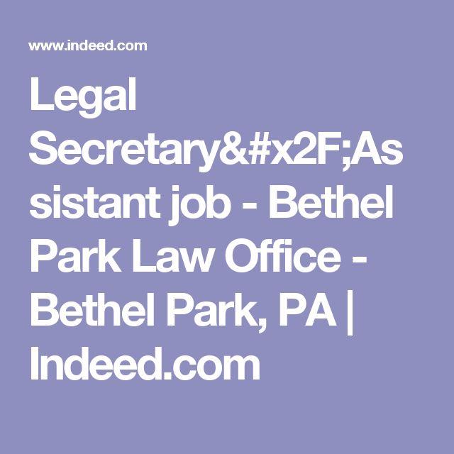 Las 25 mejores ideas sobre Pa Career en Pinterest - legal assistant job description