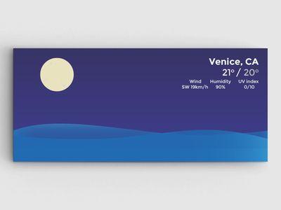 [WIP] Surfing - Weather widget