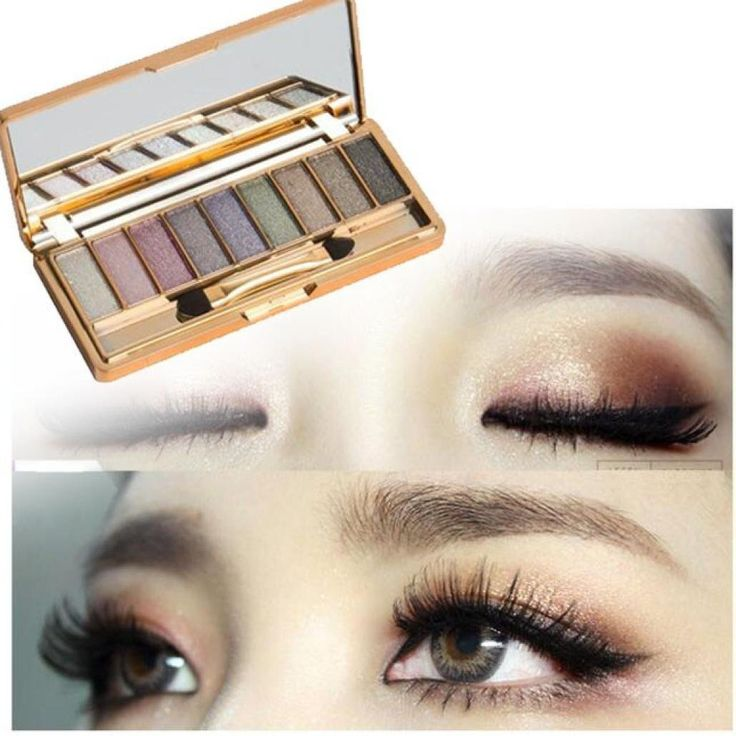 Sankuwen 9 Colors Shimmer Eyeshadow Palette (A) ** This is an Amazon Affiliate link. You can find more details by visiting the image link.