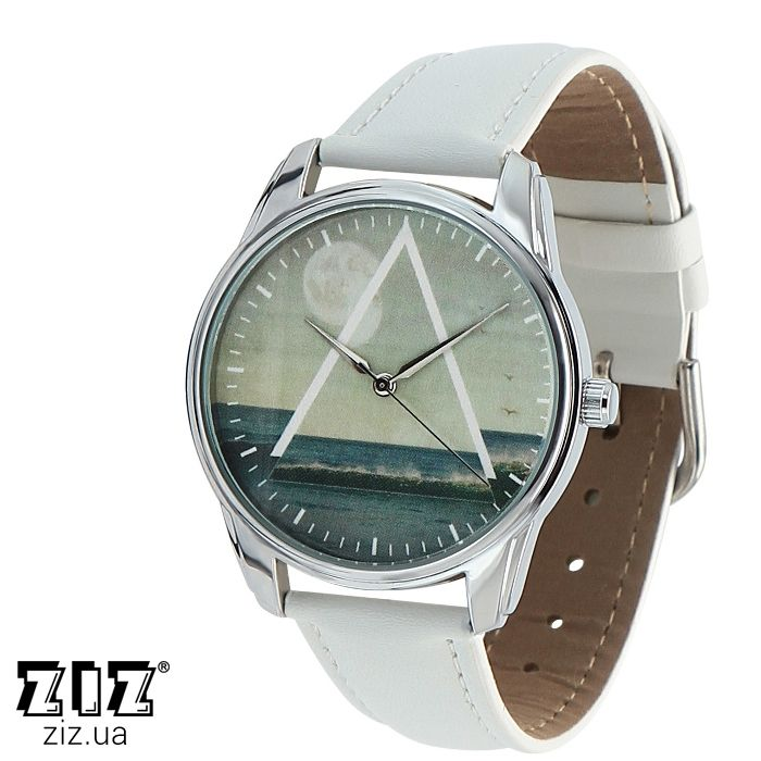 "Часы наручные ""Море"" белый"