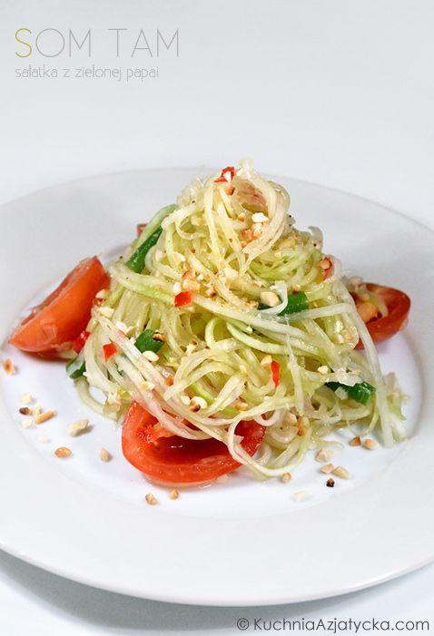Smak Azji pod kołem podbiegunowym: Som tam - sałatka z zielonej papai