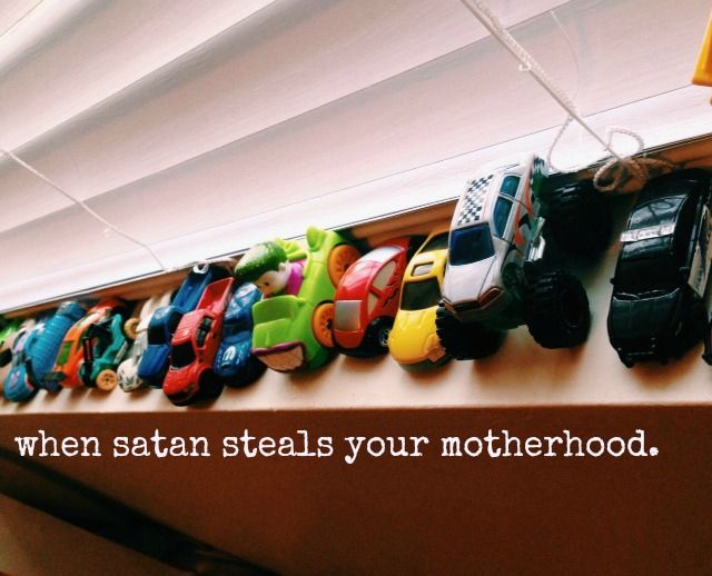 when satan steals your motherhood.