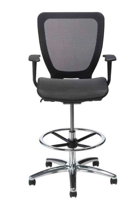 all mesh modern high stool for standing desks