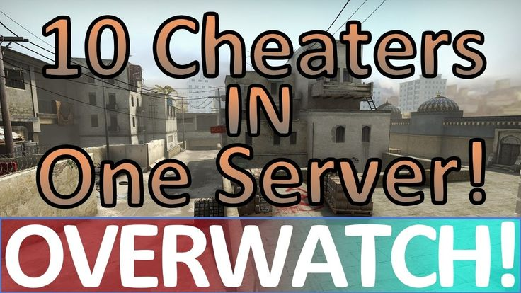 10 Cheaters vs Eachother! CS:GO OVERWATCH! (Official Match)