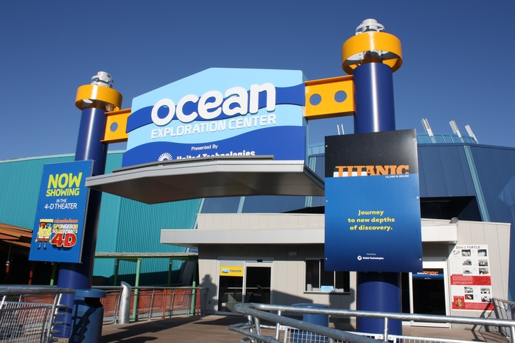 The new Ocean Exploration Center.