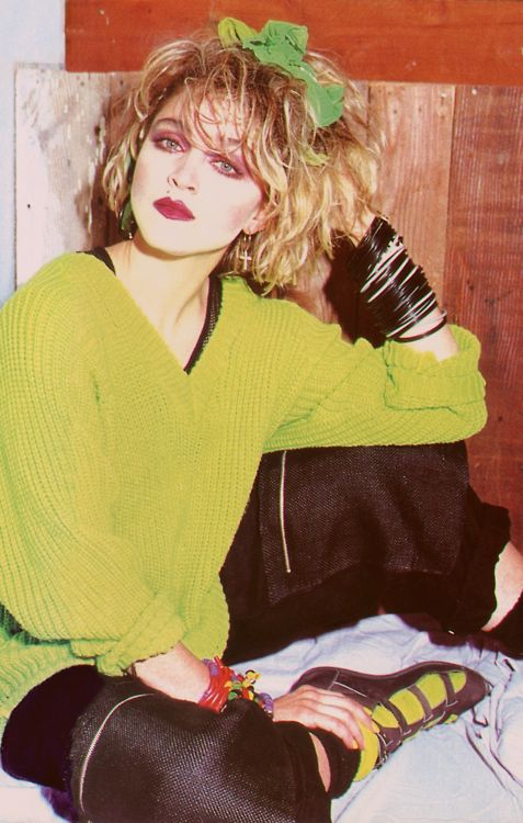 Madonna when she was cool. EIGHTIES GOLD