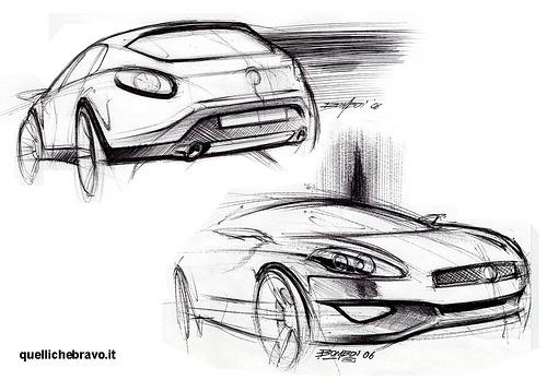 Fiat Bravo sketches
