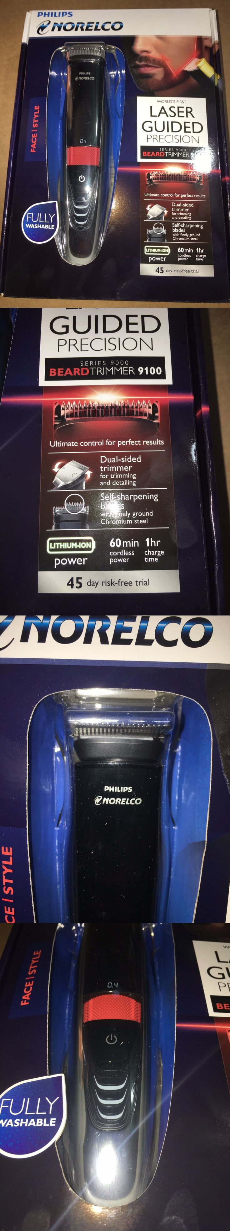 Shaving: Philips Norelco Bt9285/9100 Laser Guided Mens Beard Facial Hair Trimmer New BUY IT NOW ONLY: $68.88