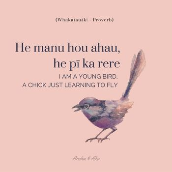 """I am a young bird, a chick just learning to fly"" {FREE download}"