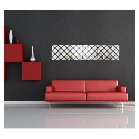 Luxusné akrylové zrkadlá obdĺžnikového tvaru