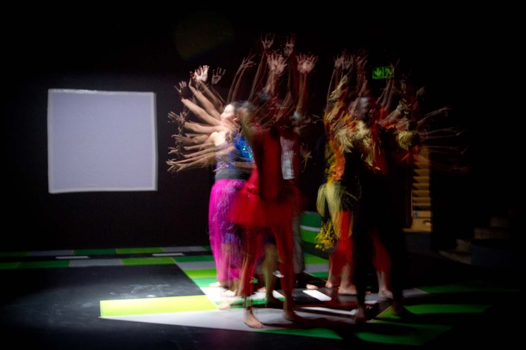 'Move a Side' by Joni Barnard in collaboration with Wits students, picture by Lisa Skinner