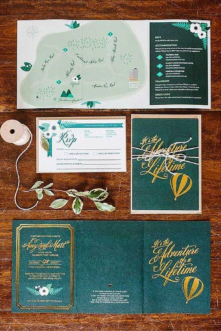 18 best Wedding Stationery images on Pinterest | Wedding stationery ...