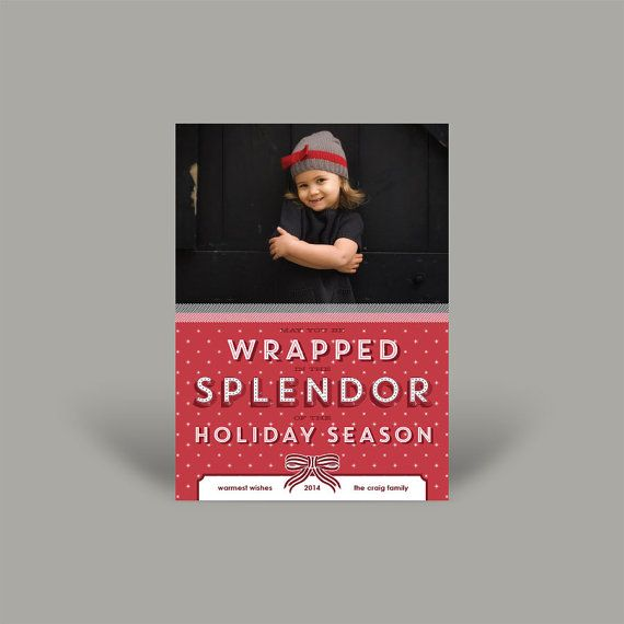 Splendor 5x7 Christmas Card (10 pk)