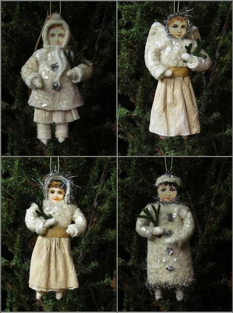 Spun Cotton Ornaments Daryl McMahon