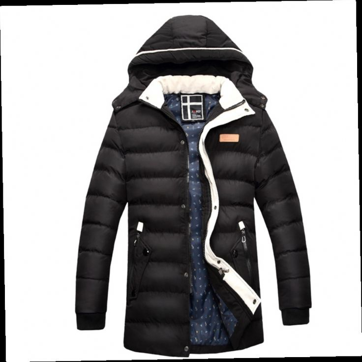 54.00$  Watch now - http://aliaek.worldwells.pw/go.php?t=32443424956 - 2016 New Casual Hooded Winter Coat Men Thick Cotton-padded Manteau Homme Hiver