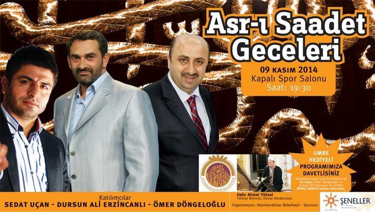 Asr-ı Saadet gecesinde huzur iklimi yaşanacak