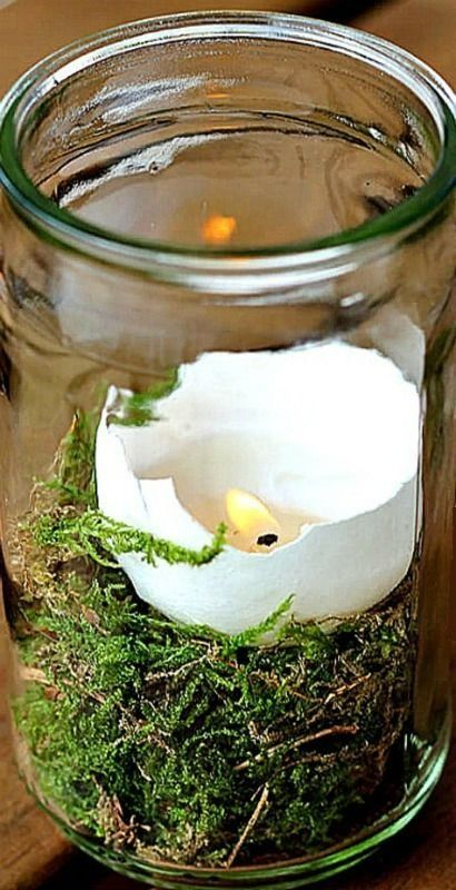 DIY - How to make Egg Candles for Easter