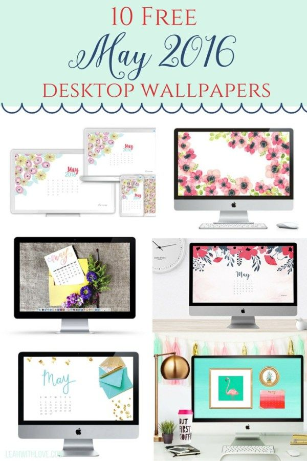 10 Free May Desktop Wallpapers- make your devices pretty for the