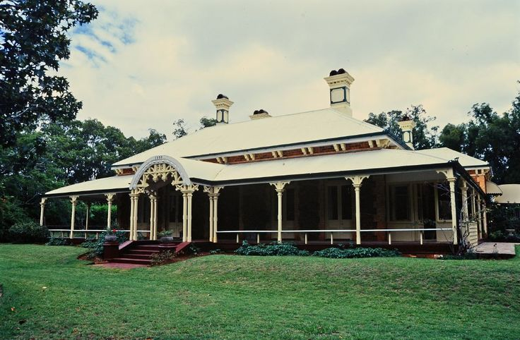 Built in 1888, Weetwood is one of Toowoomba's grander private residences of the late 19th century and remains important in demonstrating the evolution or pattern of Queensland's history and in demonstrating the principal characteristics of a particular class of cultural places. Pic dated 203.
