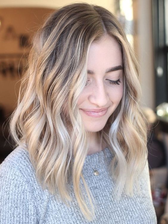 Low and Textured Hairstyles 2018 Pretty Style