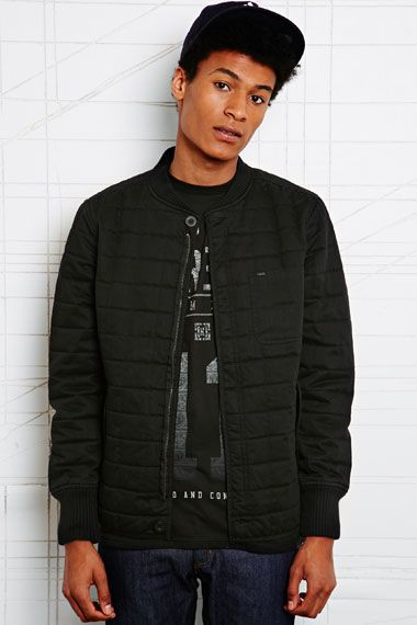 KR3W Lure Quilted Bomber Jacket at Urban Outfitters