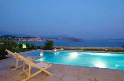 Almirida villa rental - Ammos villa swimming pool