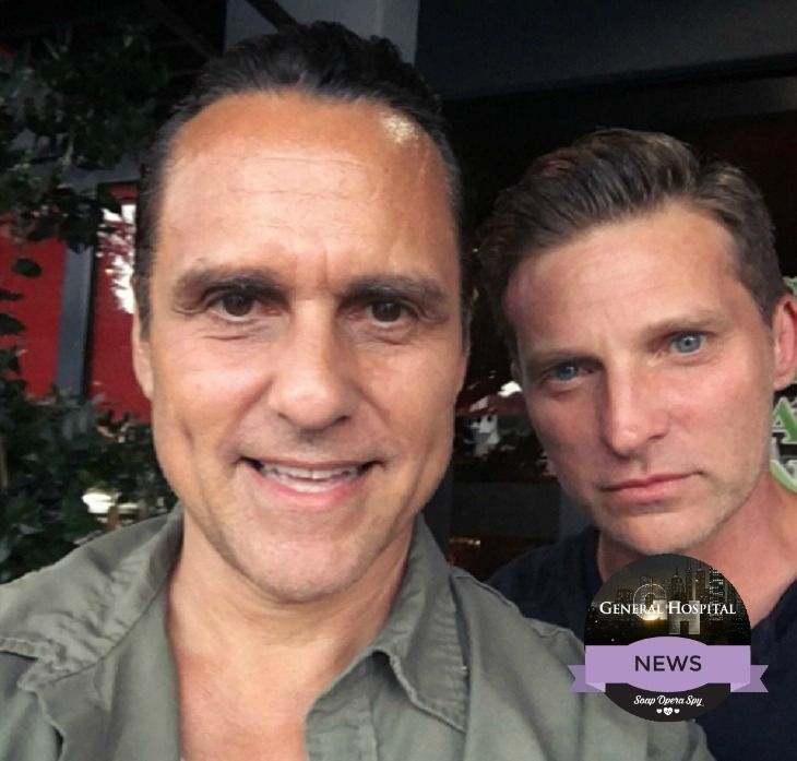 'General Hospital' fans desperately miss Steve Burton as Jason Morgan on the ABC soap opera.  Billy Miller is doing a great job with the character, but that doesn't mean we have forgotten about Steve Burton!  Steve Burton and Sonny Corinthos had an amazing bromance on and off the scre