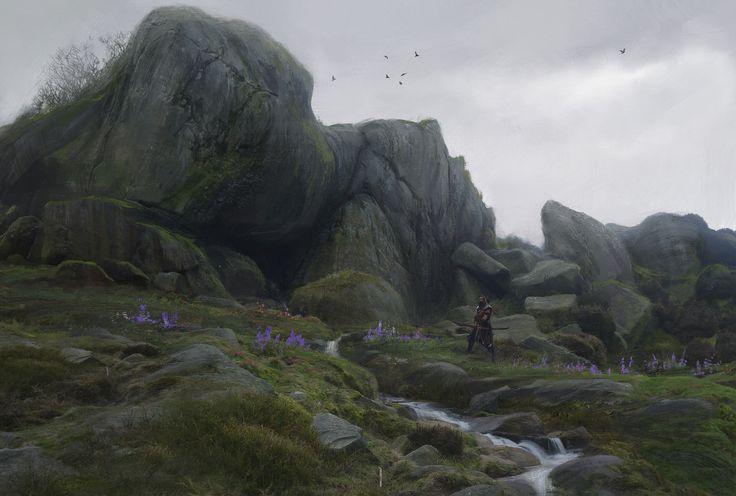 ArtStation - Environment concept. Big stones., Sergey Vasnev