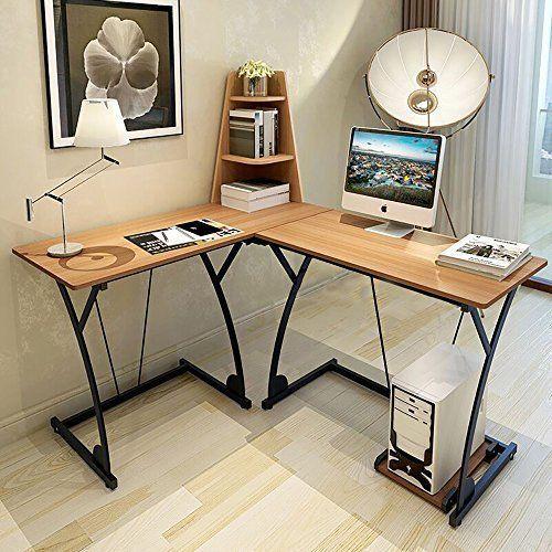 best lshaped corner desk rosewood computer study table workstation home office