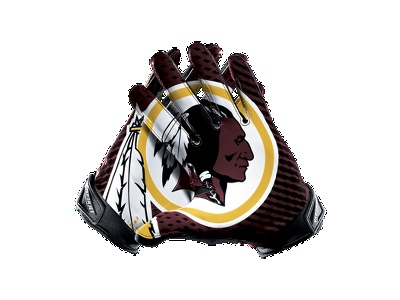 Nike Vapor Jet 2.0 (NFL Redskins) Men's Football Gloves - $100.00