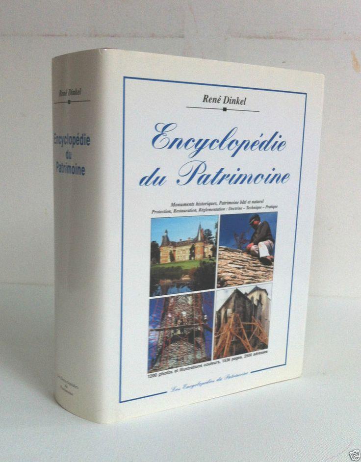 Encyclopédie du patrimoine Monuments historiques Patrimoine bati et naturel 1997