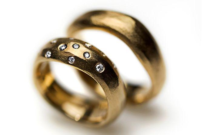 Organiske vielsesringe - Milas Jewellery